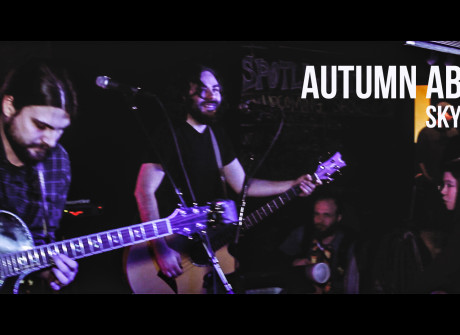 "Autumn Above: ""Skydiver"""