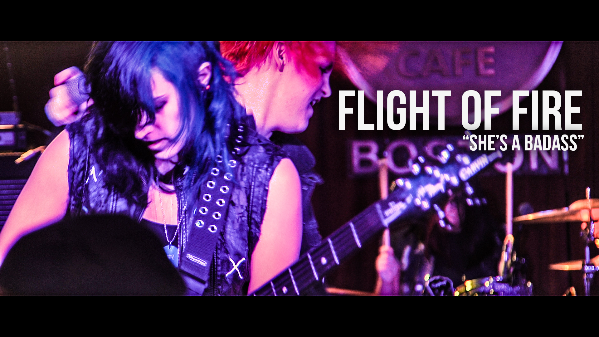 "Flight Of Fire: ""She's a Badass"""